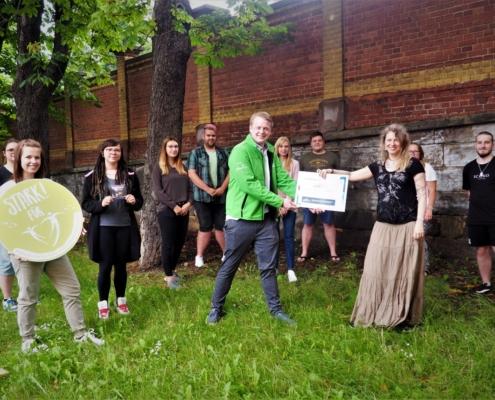 Spendenübergabee GOBI an Kinderhospitz Tambach Dietharz