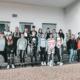 Gruppenfotos von Schülern