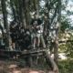 Schüler auf Station im Kletterwald